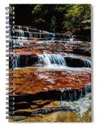 Subway Falls Spiral Notebook