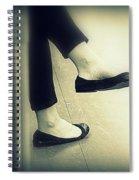 Subway Feet Spiral Notebook