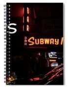 Subway Inn Bar - Vanishing Places Of New York Spiral Notebook