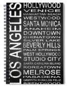 Subway Los Angeles 1 Spiral Notebook