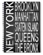 Subway New York 4 Spiral Notebook