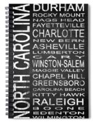 Subway North Carolina State 1 Spiral Notebook