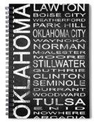 Subway Oklahoma State 1 Spiral Notebook