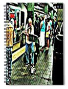 Subway Seranade Spiral Notebook