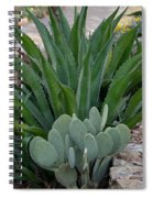 Succulent Greens Spiral Notebook