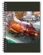Succulent Pig Spiral Notebook