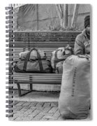 Such A Long Journey Bw Spiral Notebook