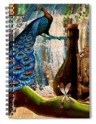 Suck My Peacock Spiral Notebook