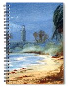 Sudden Storm Faro De Punta Tuna Spiral Notebook