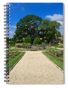 Sudeley Castle Gardens In The Cotswolds Spiral Notebook