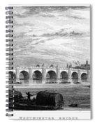 Suez Canal, 1894 Spiral Notebook