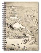 Suez Canal Spiral Notebook