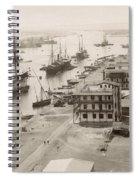Suez Canal Port Said Spiral Notebook