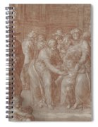 Suffer The Little Children To Come Unto Me Spiral Notebook
