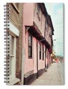 Suffolk Town Houses Spiral Notebook