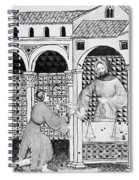 Sugar, 14th Century Spiral Notebook