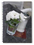 Sugar And Flowers Spiral Notebook