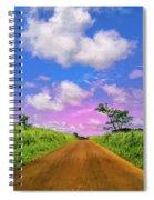 Sugar Cane Sunrise Spiral Notebook