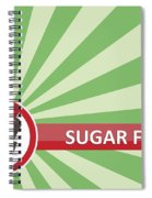 Sugar Free Banner Spiral Notebook
