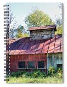 Sugar House Of Old Spiral Notebook