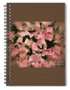Sugared Sweetpeas Spiral Notebook