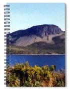 Sugarloaf Hill In Summer Spiral Notebook
