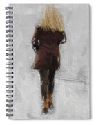 Suicide Blonde Spiral Notebook