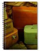 Suitcases In The Attic Spiral Notebook