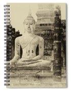 Buddha Sukhothai Thailand 1 Spiral Notebook