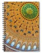 Suleiman Mosque Interior 08 Spiral Notebook
