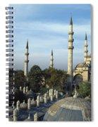 Suleymanhe Mosque, The Bizaar Quarter Spiral Notebook