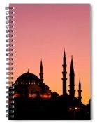Suleymaniye Sundown 01 Spiral Notebook