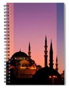 Suleymaniye Sundown Triptych 05 Spiral Notebook