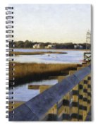 Sullivan's Island To Old Village Spiral Notebook