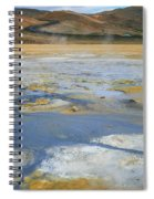 Sulphur And Volcanic Earth Spiral Notebook