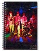 Sultans Of Swing Spiral Notebook