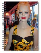 Sultry In Sunflowers Spiral Notebook