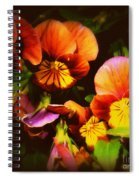 Sultry Nights - Flower Photography Spiral Notebook