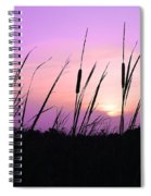 Sultry Sunset Spiral Notebook