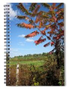 Sumac Fence Spiral Notebook