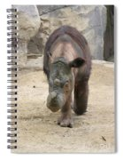Sumatran Rhinoceros  Spiral Notebook