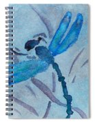 Sumi Dragonfly Spiral Notebook