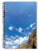 Sumidero Canyon Sky Spiral Notebook