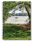 Summer At The Lake Spiral Notebook