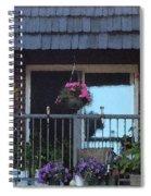 Summer Balcony Spiral Notebook