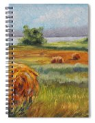 Summer Bales Spiral Notebook