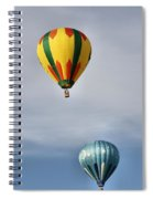 Summer Balloons Spiral Notebook