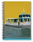 Summer Boat Ride 02 Walt Disney World Spiral Notebook