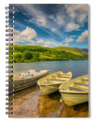 Summer Boating Spiral Notebook