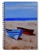 Summer Boats Spiral Notebook